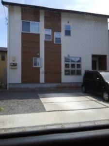 木質調の住宅外壁
