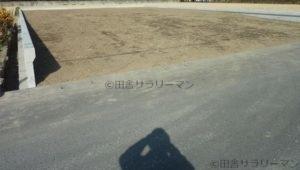 田んぼを埋め立てた後の宅地