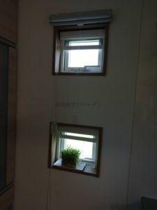 キッチン東側小窓
