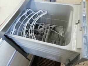 食洗器の内部