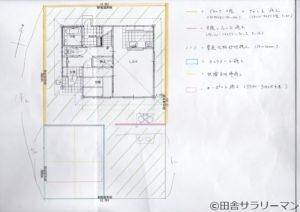 ユニバーサルホームの外構工事図面